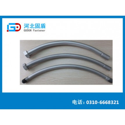 管片螺栓   5.8级热镀锌管片螺栓地铁专用螺栓防腐抗氧化