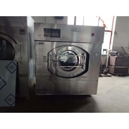 尚志市洗衣店便宜处理二手水洗机烘干机买卖二手工业洗涤设备