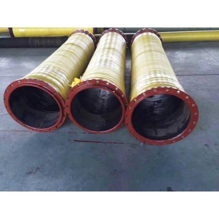厂家直销喷砂胶管304不锈钢法兰E型快速接头输送渣壳砂石料