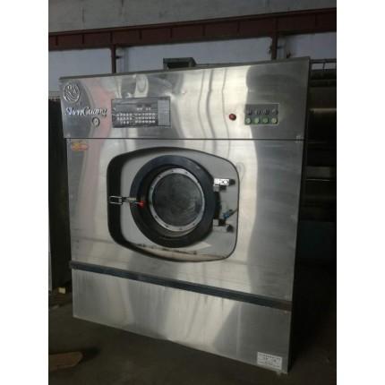 乌海市出售二手2吨天然气锅炉酒店布草烫平机水洗机价格