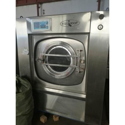 乌海市二手海狮四五辊烫平机转让百强力净二手折叠机水洗机有现货