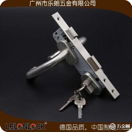 厂家直供 椭圆盖室内门锁 小锁体分体锁乐朗RTH-24+RML-06+RCR-01 椭圆盖分体锁