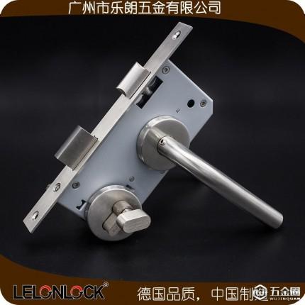 门锁配件批发 不锈钢弯管门把手室内门锁执手分体锁锁体锁芯厂家供应RTH-02+RML-13+RCR-01