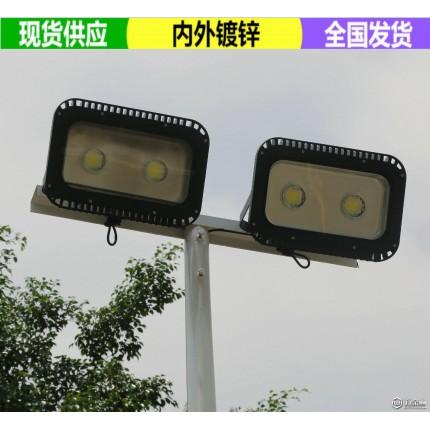 岳阳室外照明高杆灯现货 球场边上电线柱子安装 十年灯杆