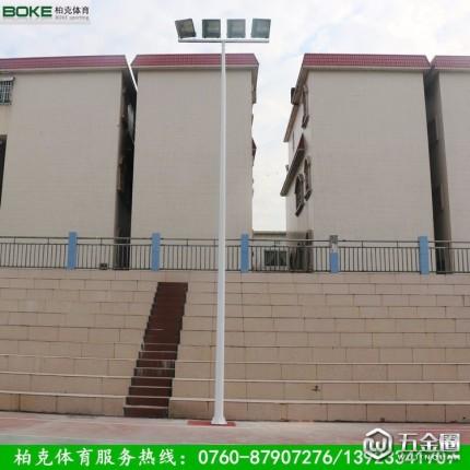 广州篮球场灯杆价格 室外篮球场灯杆 库存直发,快速到货