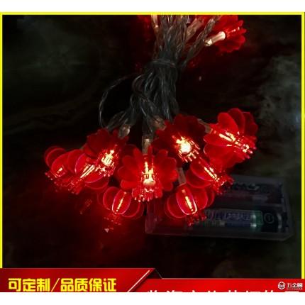 自主LED灯笼彩灯 圣诞节日灯节日彩灯灯串宴会婚庆室外室内装饰灯道具
