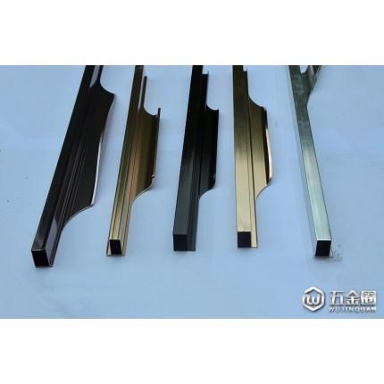 供应广州东日铝型材铣形拉手 橱柜拉手