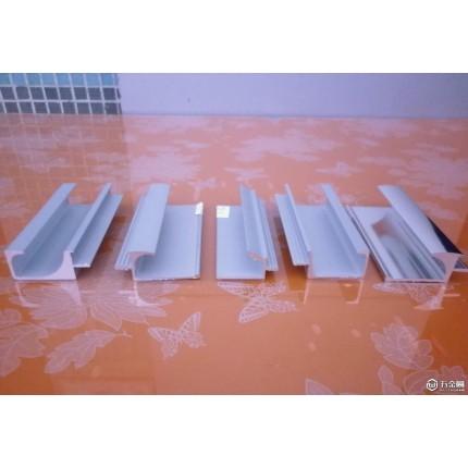 鹏翼抽屉铝拉手 橱柜铝把手 铝型材 铝材 家具铝合金 木板拉手封边