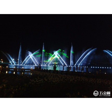 大妙光M63供应建筑金属结构喷泉灯 雕塑喷泉LED灯 音乐喷泉 室外公园喷泉