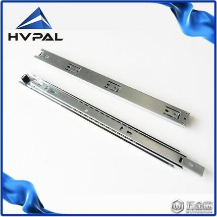 35宽hvpal二 节工业轻型钢珠滑轨 抽屉滑轨
