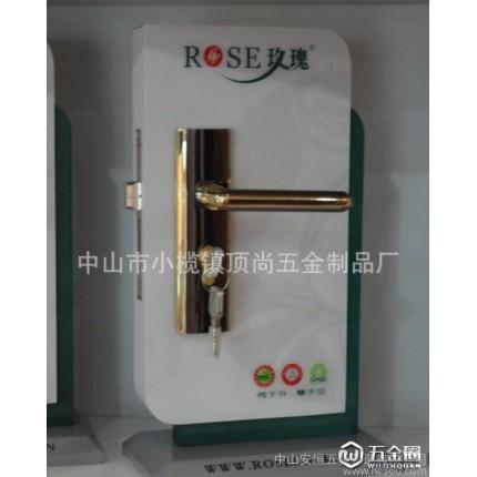 锌合金室内门锁 厂价室内门锁 中山锁具 插芯锁 执手锁