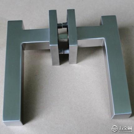 RLH-48【LELONLOCK乐朗】不锈钢304精铸实心分体门锁把手室内门执手通道门拉手