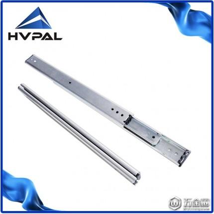 【现货特殊定制】35宽双层叠加滚珠滑轨工业 重型全展滑轨 非标定制