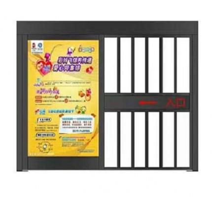 供应安装平移门 广告门  电动门 伸缩门门禁系统