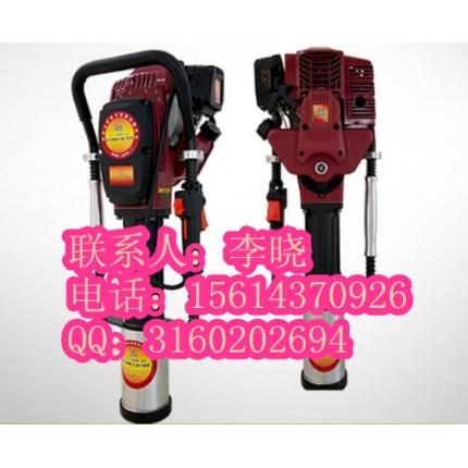 防汛打桩机不适用于工程建筑打桩机『一体式防汛汽油打桩机』