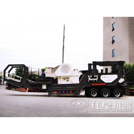 可移动打石机产量高、效益好KS11