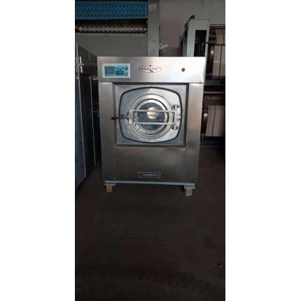乌海出售二手100公斤全自动洗脱机二手工业布草烘干机价格