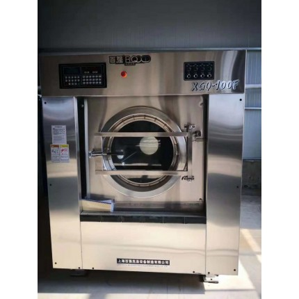 沧州出售二手电加热100公斤烘干机二手小型水洗机现场看货