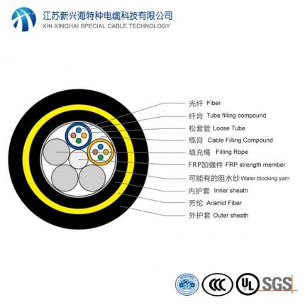 全介质自承式光纤光缆 8芯ADSS光缆