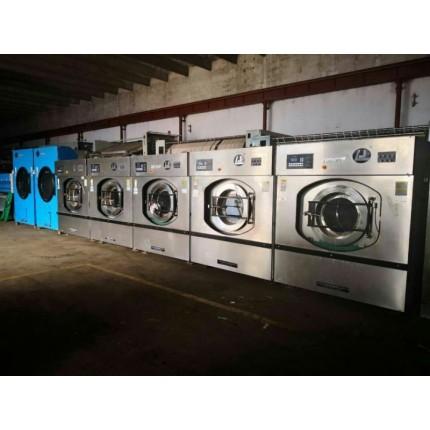 沧州转让全套二手水洗厂设备二手床单水洗机