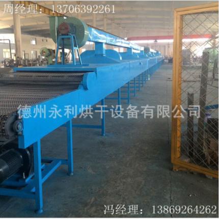厂家供应大型网带式木皮烘干机 隧道式烘干设备