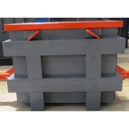 铸造砂箱的设计