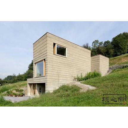 现代夯土墙-夯土墙厚度,朴之原