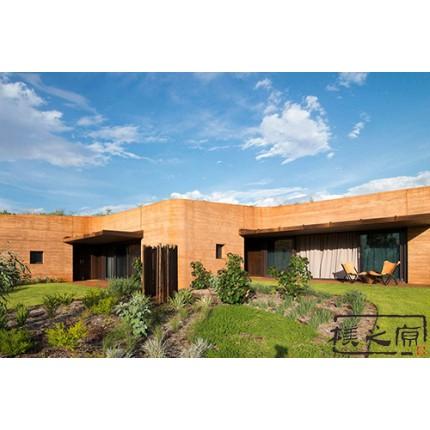 夯土建筑工艺-现代夯土墙施工,朴之原