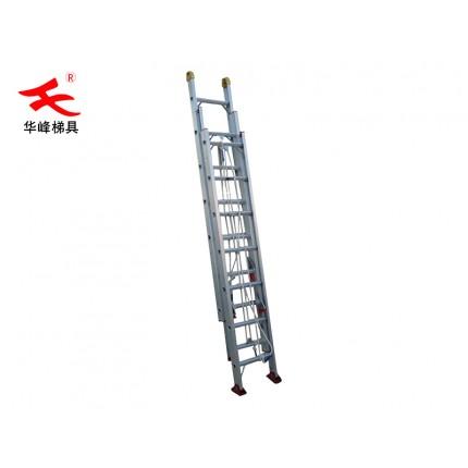 工业铝梯子-三段伸缩梯-铝合金梯子品牌