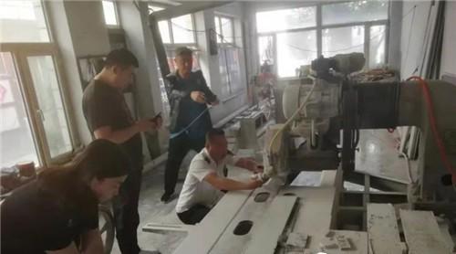 """乌兰察布市结合""""五城联创""""相关要求 开展石材市场的规范专项行动"""