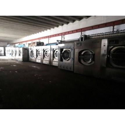 日照出售二手大型600磅水洗机,洗衣房设备,专业水洗厂家