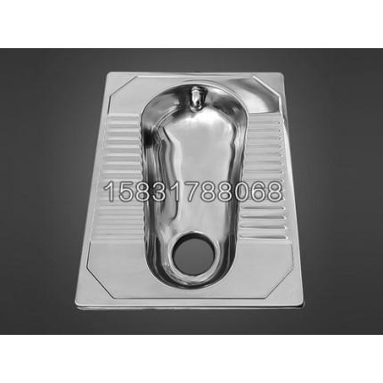 供应不锈钢蹲便器后冲前排式移动厕所不锈钢厕具