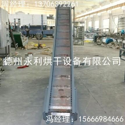 新品上市 刮板式工业提升机 小型链板上料机
