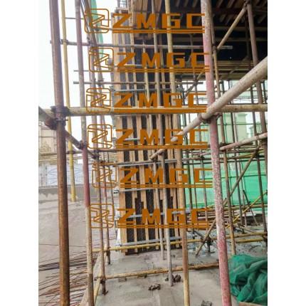 新型框架方柱模板可调式加固件施工工艺