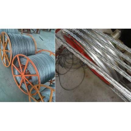 多股钢绳 钢丝绳塔吊专用防扭不旋转钢丝绳 钢牵引绳 牵引钢绳