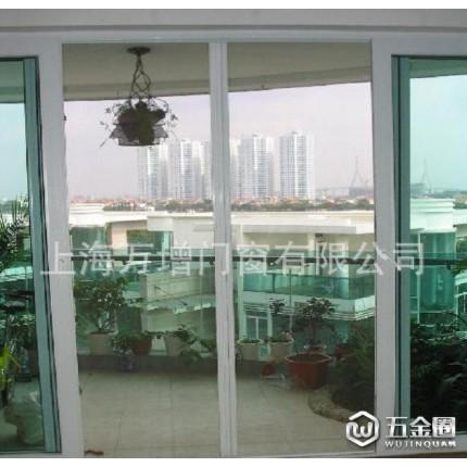 上海断桥门窗上海门窗 浦西门窗店  60系列塑钢移门