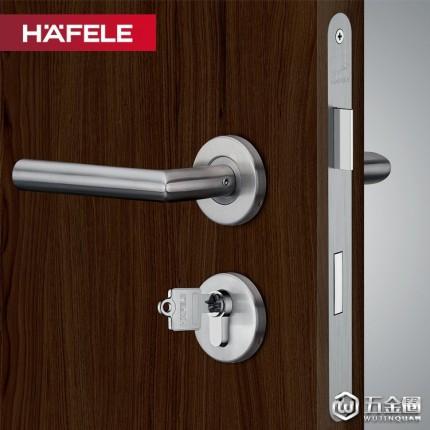 HAFELE/海福乐海福乐门锁 室内门锁 房门锁实木门把手 静音分体