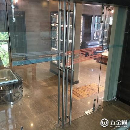时尚拉手锁促销供应玻璃门304不锈钢大拉手工厂直销