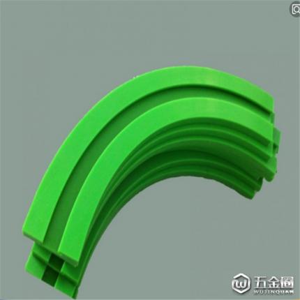 MC尼龙链条导轨 灌装机输送尼龙滑轨 塑料滑道