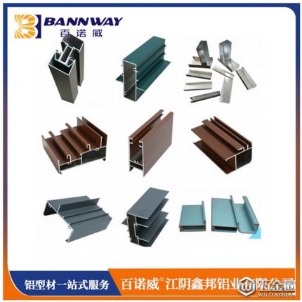 百诺威门窗铝型材 铝合金门窗型材 铝合金门窗 江阴鑫邦铝业有限公司