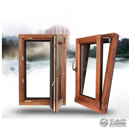 铝包木门窗 铝包木门窗厂家 铝包木门窗厂家现货 环保系统门窗供应 室内专用铝包木门窗