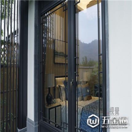 铝合金门窗定制中式复古门窗断桥隔热酒店商铺古镇中国风门窗可上门测量