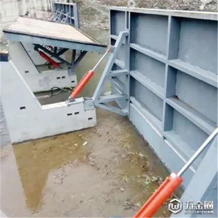 合页坝 液压升降坝 液压景观闸门 可来图定制