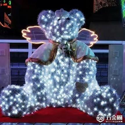 LED星星灯串亮化景观工程灯串安全低压户外防水灯串串灯室外彩灯
