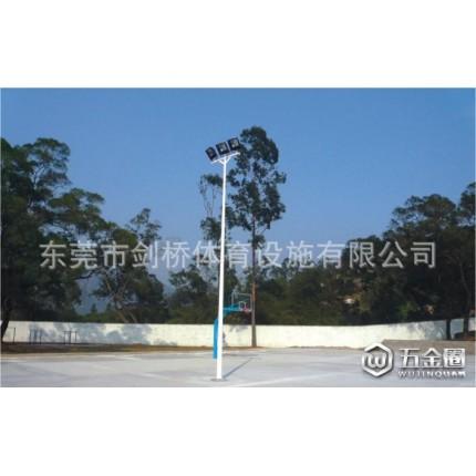 湖南户外篮球场灯杆生产/泉州室外球场灯柱安装