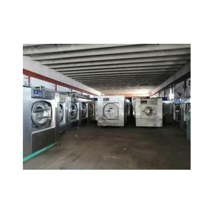 兴安出售二手海狮百强四辊烫平机洗衣房二手洗涤设备