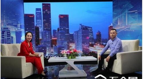 """""""福州锦龙新型建筑材料""""总经理陈少林做客《信用中国》"""