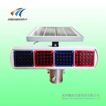 广安160颗爆闪灯 铝制太阳能爆闪灯 交通设施价格